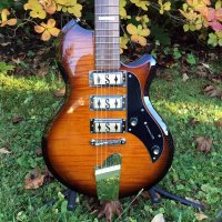 Supro 2030TS Hampton in Tobacco Burst w/gigbag
