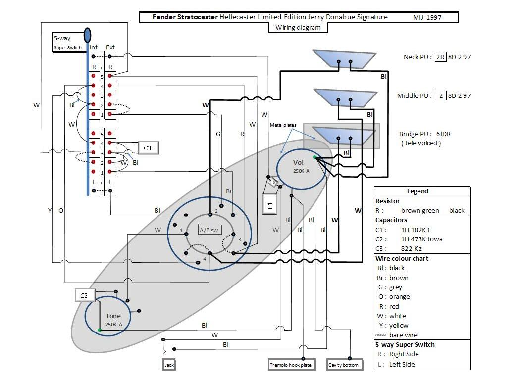 Hellecaster Tele Voiced Stratocaster Wiring Diagram Telecaster Questions On New Guitar Forum Reconstitution From My Own