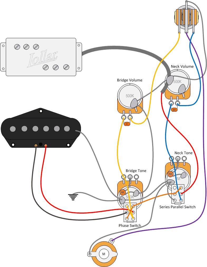 Fender Tele Wiring Diagram Another Blog About Paralel Humbucker Squier Telecaster Custom 46 Baja S1