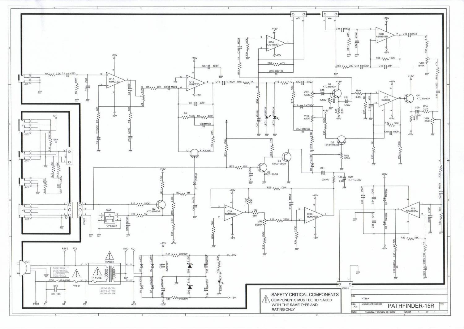 vox pathfinder 10 schematic  | ultimate-guitar.com