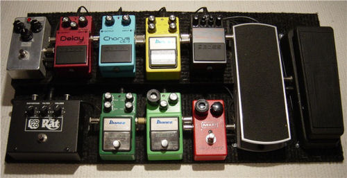 Show Us Your Pedal Board