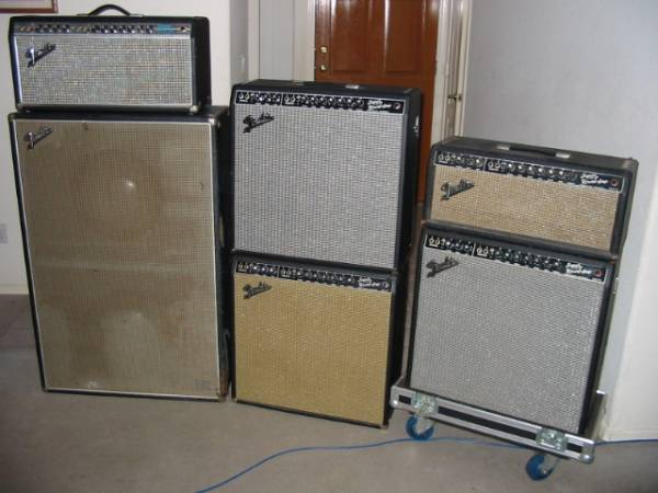 Twin Reverb in a head/cab config. | Telecaster Guitar Forum