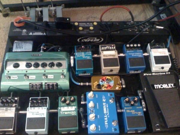 correct order for pedals telecaster guitar forum. Black Bedroom Furniture Sets. Home Design Ideas