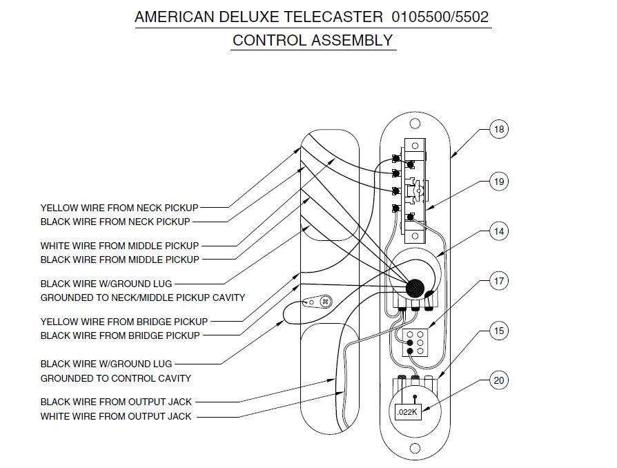 fender nashville telecaster n3 pickup wiring diagram fender telecaster 3 way wiring diagram #11