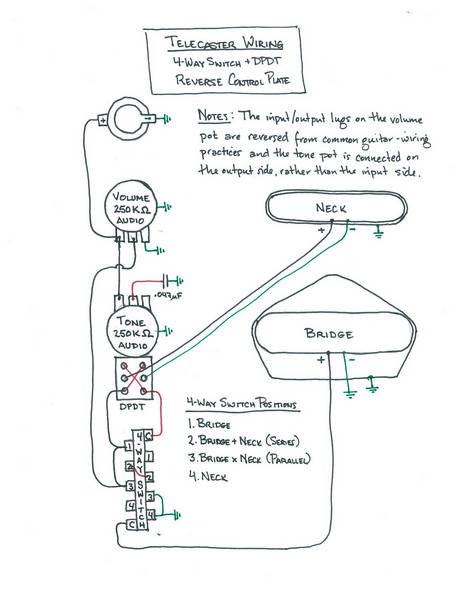how a 4 way switch wiring diagram 4 way switch wiring diagram for a stratocaster first time build - wiring questions | telecaster guitar forum #10
