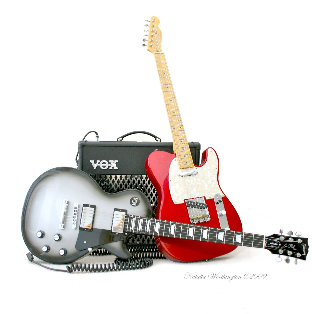 Telecaster Guitar Photo Gallery - Love is in the Air.