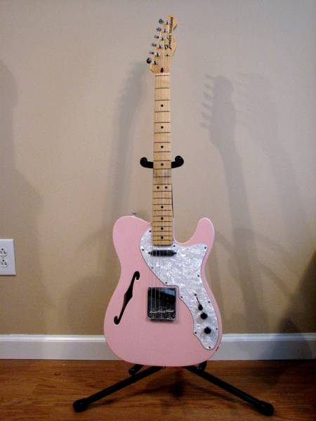 anybody have any shell pink guitars let 39 s see them harmony central. Black Bedroom Furniture Sets. Home Design Ideas