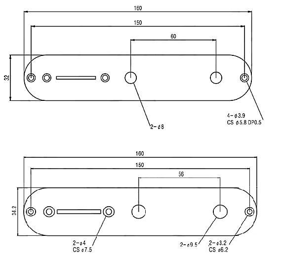 Control Plate With No Hole