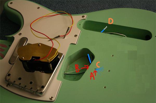 do telecasters have a ground wire under the bridge telecaster guitar forum. Black Bedroom Furniture Sets. Home Design Ideas