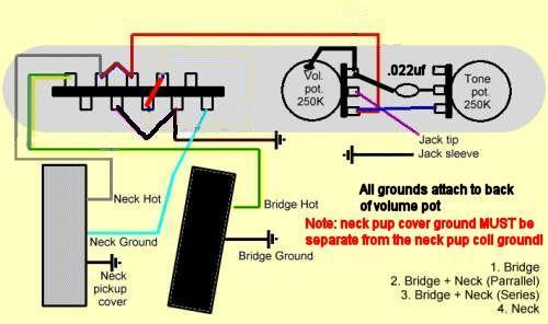 4 way switch on tele requires separate grounding?? custom telecaster wiring -diagram it right the first time instead of trying something then having to take it apart again, although that seems a lot easier with a tele than strat! thanks!