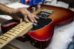 Fender American Design Experience Sunset Burst Metallic Tele Final Assembly